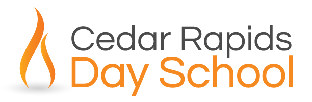 Cedar Rapids Day School Sticky Logo